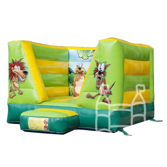 Springkussen-Jungle-4x3m-huren